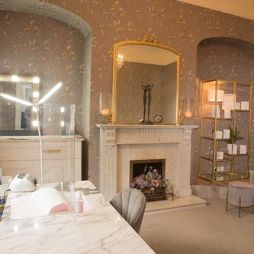 inside dbbeauty's beautician room in birr