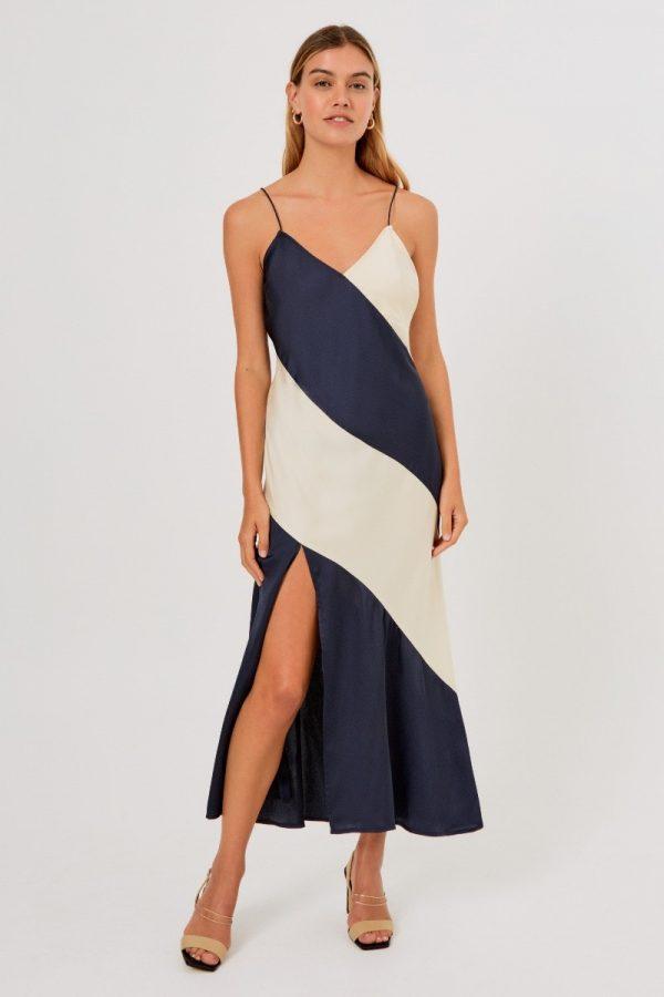 202004029 yasmine dress 411 navy w nude g 51767