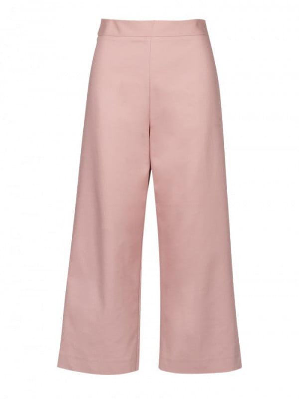 wide ankle pants noemi pink