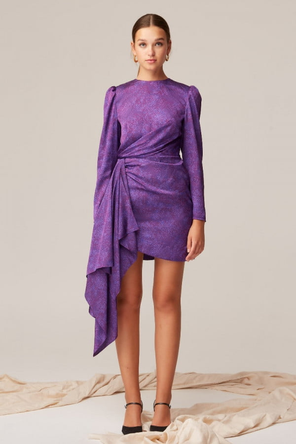302004032 alchemy shirt dress 001 black nh 1394 purple