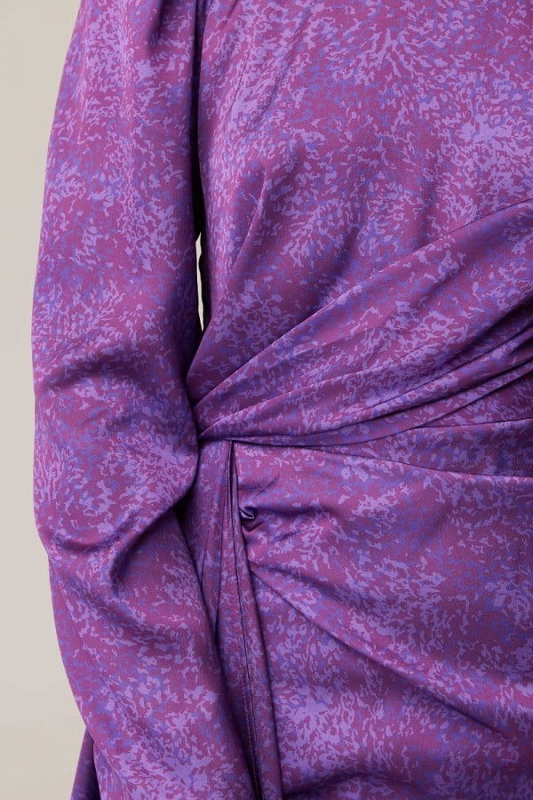 302004058 tonight ls mini dress 512 violet mottle nh 1398
