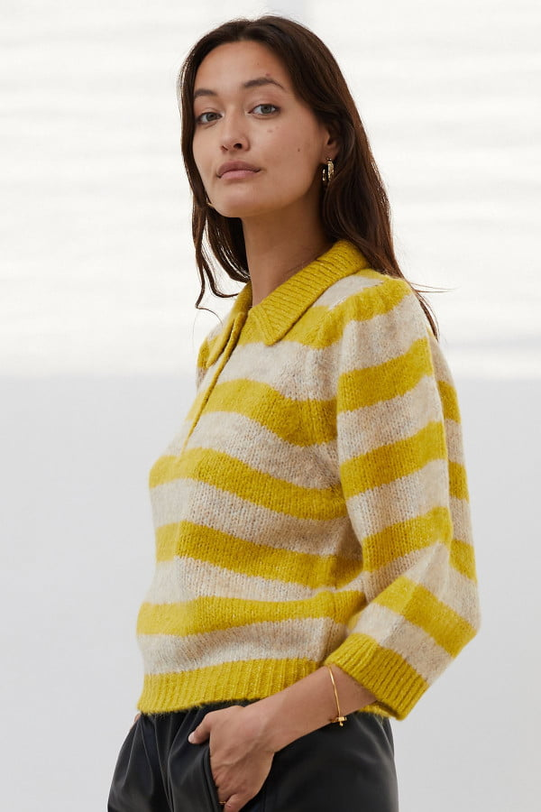 Dylan 20Jumper Knit 21470 6013 39 20Yellow